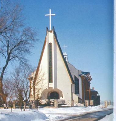 Nowy kościół wKrzeczowicach