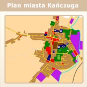 Plan miasta Kańczuga