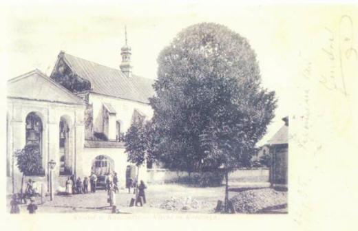 Kościół wKańczudze - 1905 rok